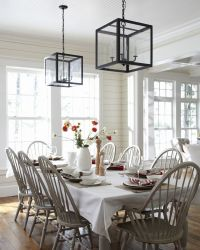 windsor chairs painted gray - nice update | For the Home ...