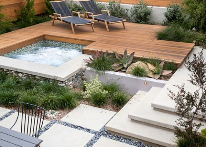 backyard landscaping ideas that will make you feel at home also