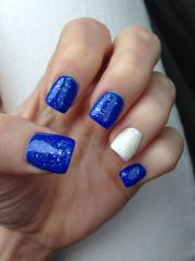 nails. years nails sparkly