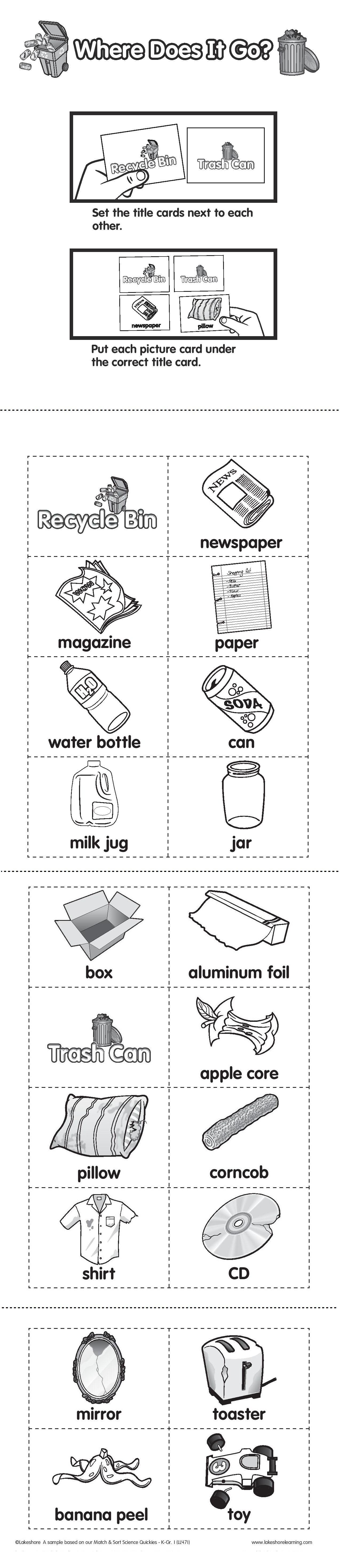What Goes In The Recycle Bin And What Goes In The Trash