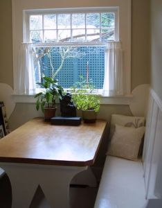 Breakfast nook table  bench plans toh discussions  really like the idea of  booth in our new house also diy rh pinterest