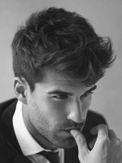 Medium Thick Modern Hairstyles For Men For J Pinterest