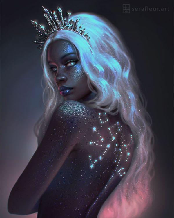 Ceres Deviantart - Https Supergirlsart #
