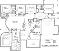 One Story Open Floor Plans | Floor Plans | Floor Plans ...