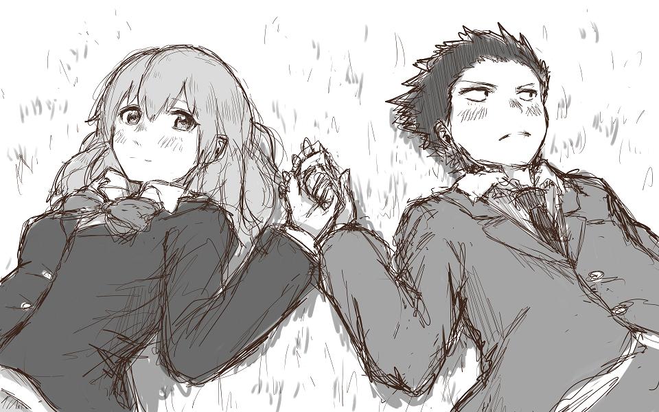 Shoko Silent Voice Crying