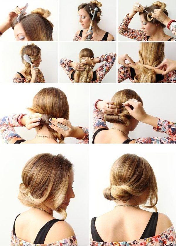 Schöne Leichte Frisuren Tipps 2015 Vintage Pinterest Leichte