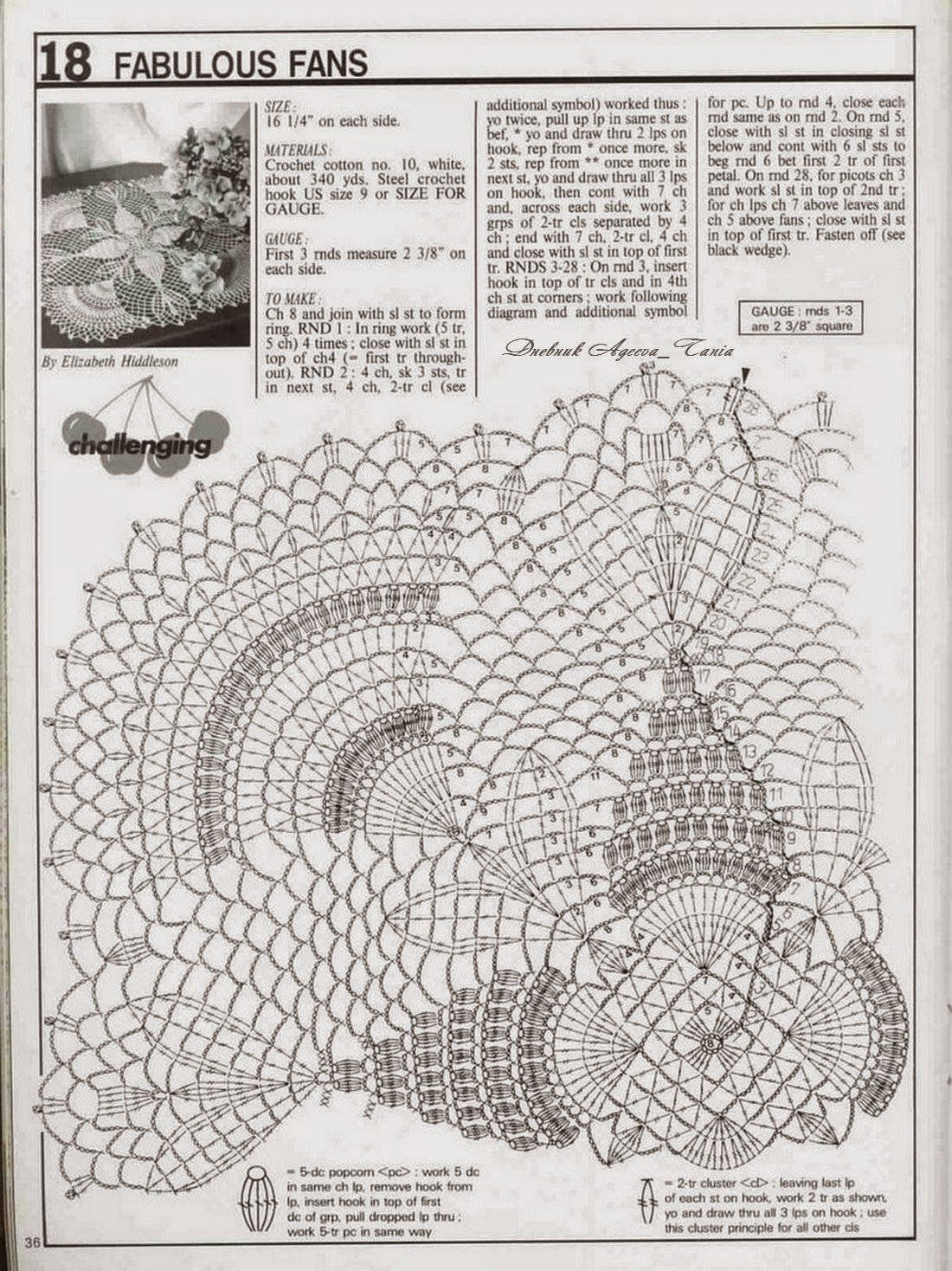 pineapple crochet doily diagram polo 9n wiring and arts square doilies
