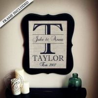 Personalized Wedding Gifts Wall Art | www.pixshark.com ...