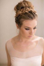top knot bun wedding hairstyles