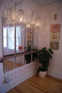This lovely ballerina room was created using a decorative ...