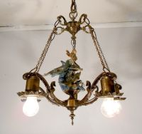 Classic Antique Style Mermaid Nautical Chandelier Ceiling ...