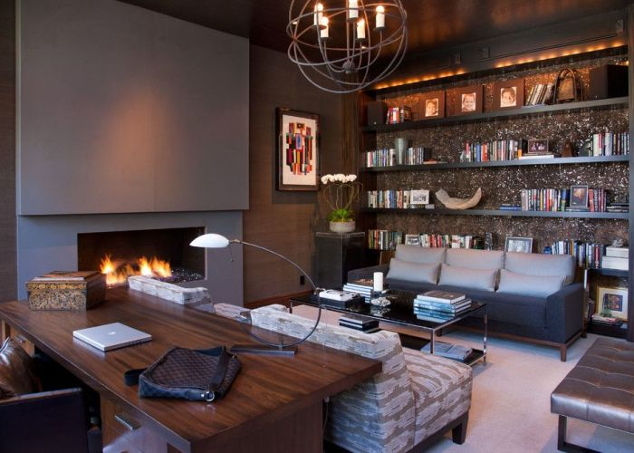 Hollywood glamour meets modern home office san diego lori gentile interior design also glamorous luxury living room inspiration