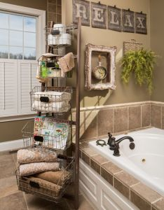 nifty bathroom storage ideas to make use of every bit space available also best images about interior on pinterest romantic hooks and rh