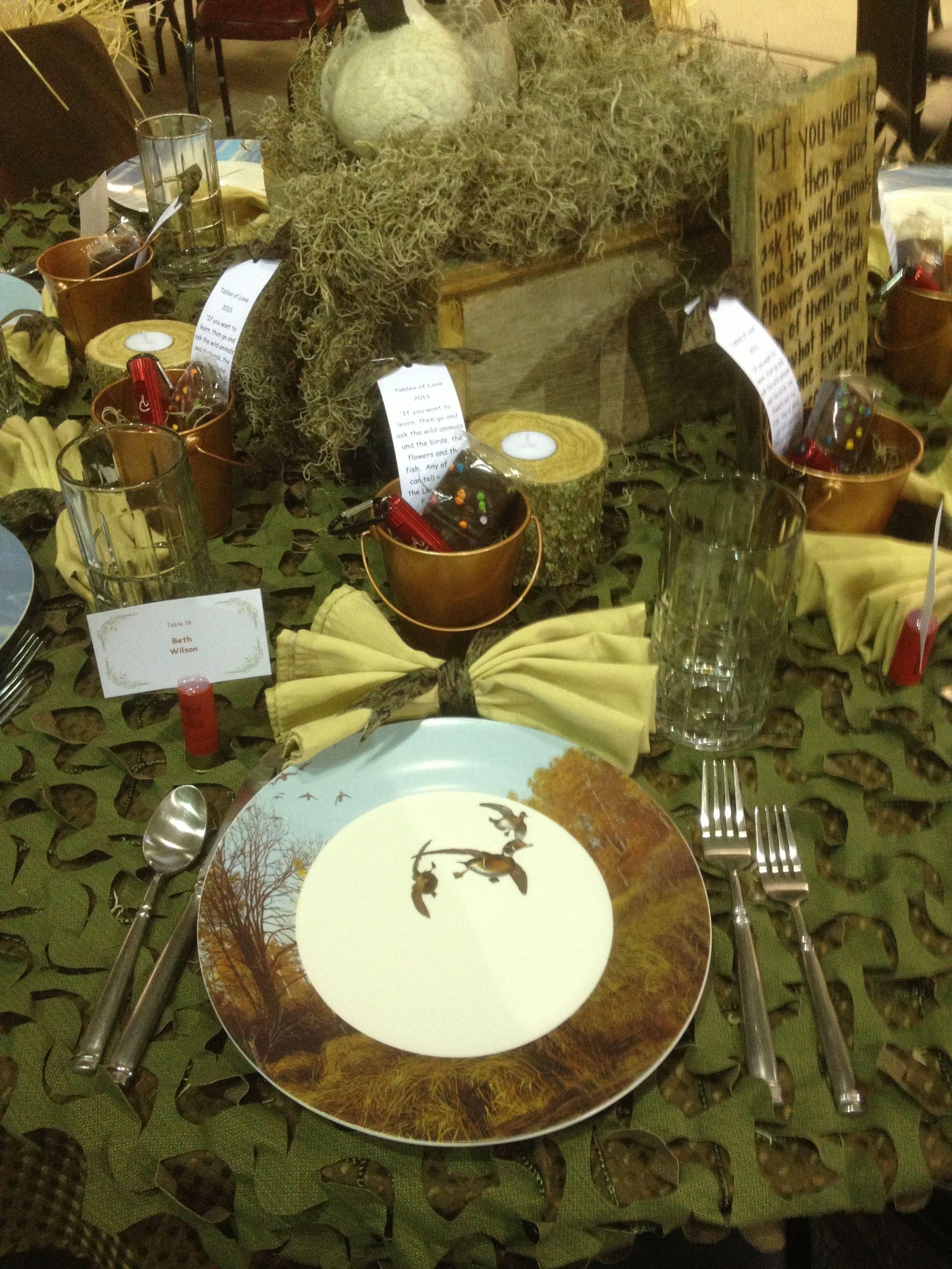 Ideas Themed Wedding Hunting