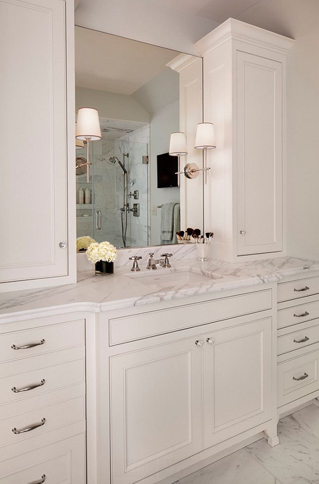 Bathroom Cabinet Ideas Bathroom features his and her