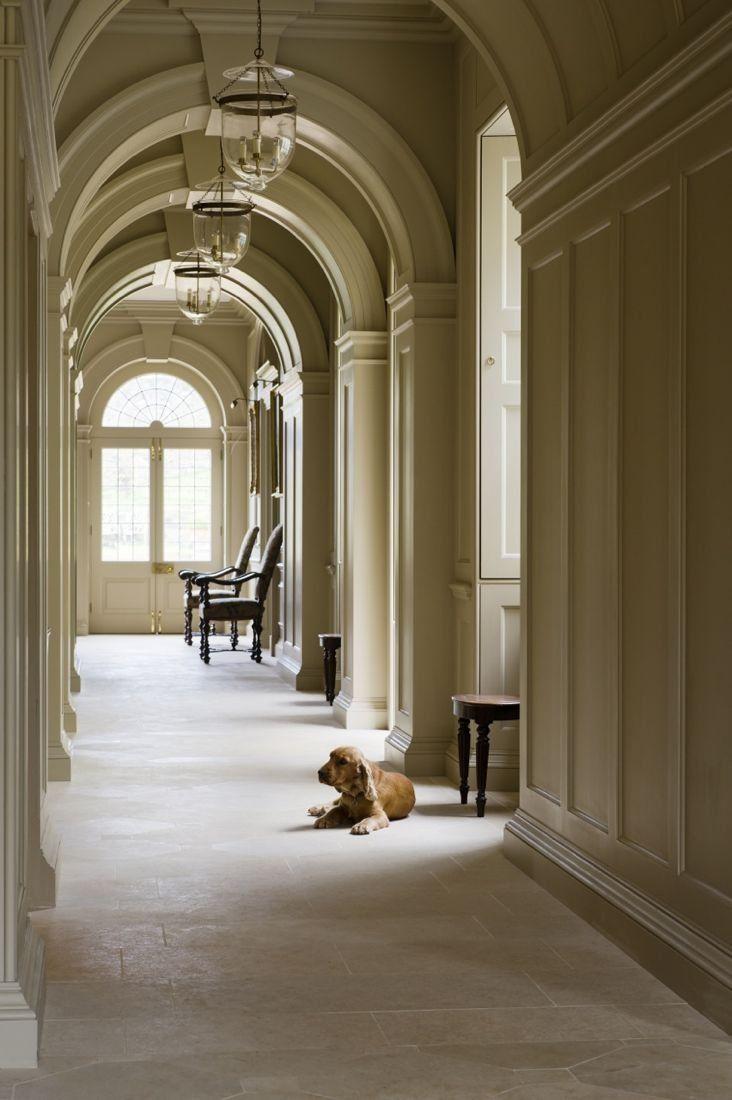 Grand Hallway Unique Home Design