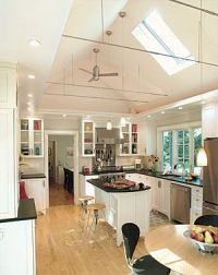 Lighting soffit idea for cabinets in a kitchen with a ...