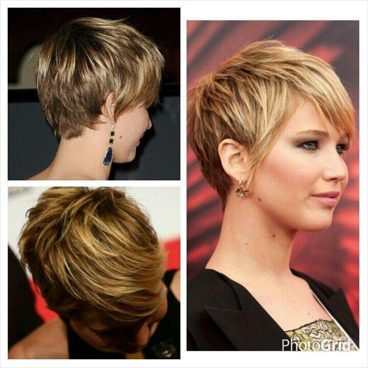 Jennifer Lawrence Short Hair Short Haircut Style Pinterest