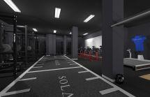 CrossFit Gym Interior Design