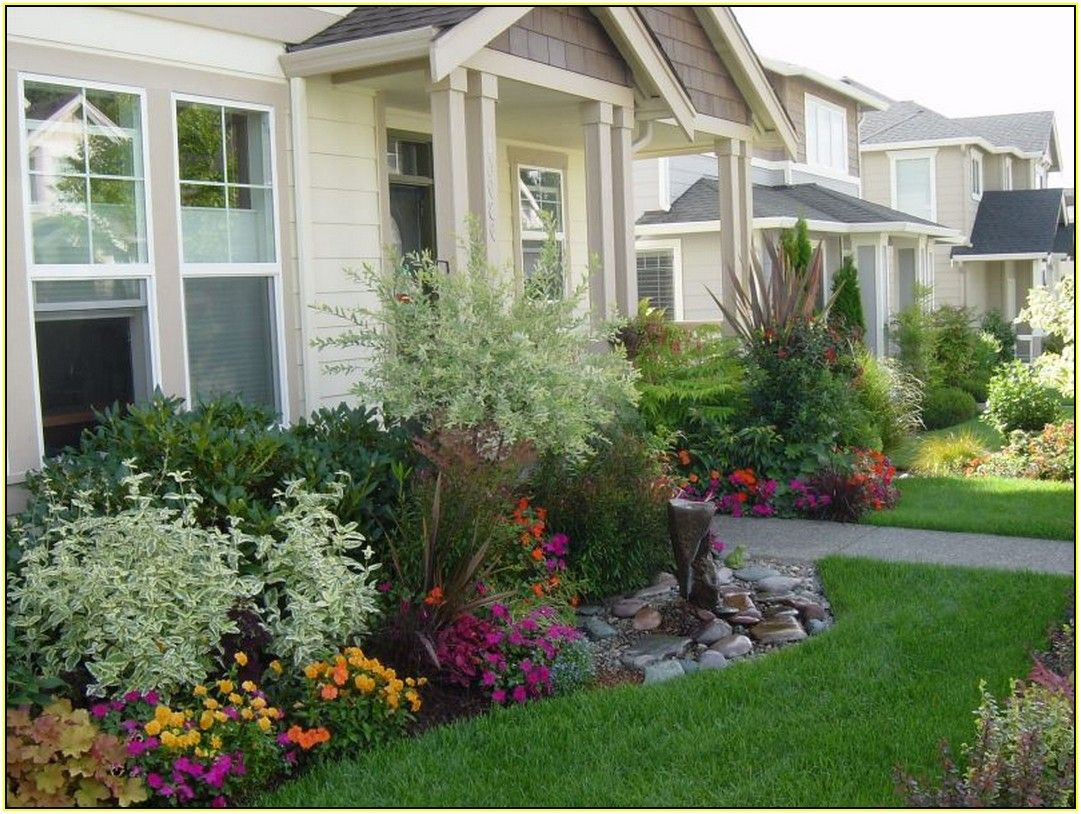 Image Result For Low Growing Shrubs For Front Of House Garden