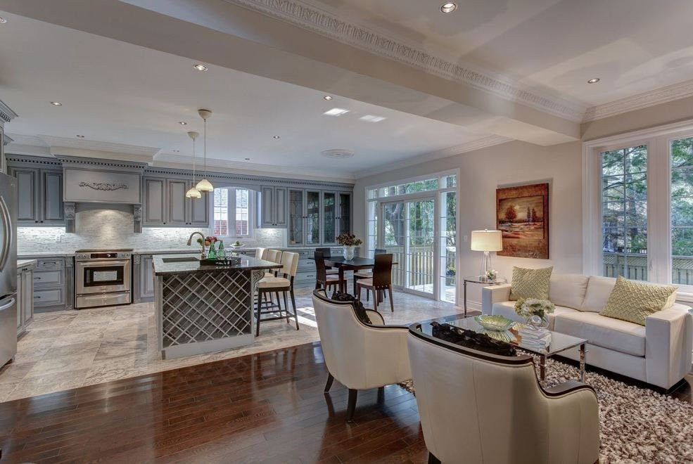 Beautiful Home With Open Kitchen Design