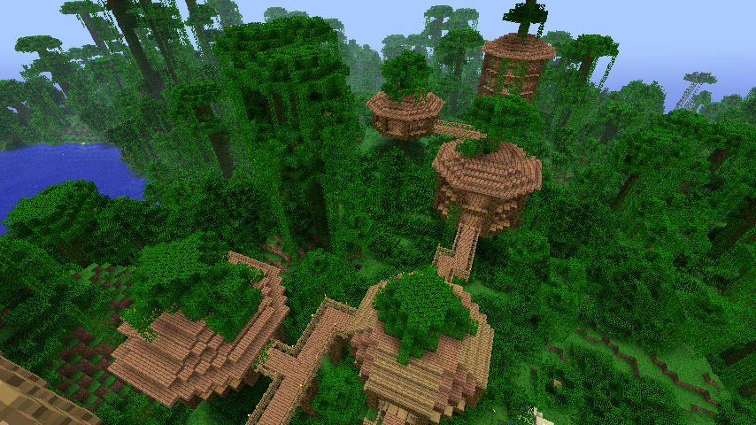 Schematic For A Small Ish Jungle Tree House That I Made In
