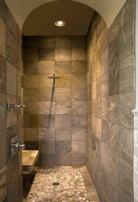 Master Bathrooms With Walk In Showers
