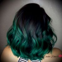 Green Ombre Hair Color | www.pixshark.com - Images ...