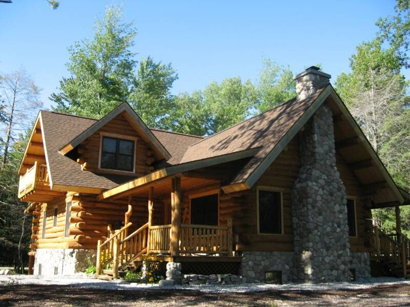 Website That Allows You To Pick A Floor Plan Kit Of A Log Cabin