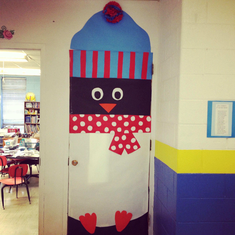 Winter Classroom Door Decoration