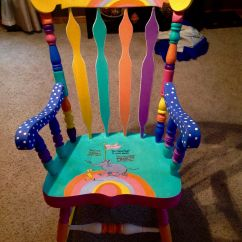 Dr Seuss Chair Black Resin Chairs Nz Painted And