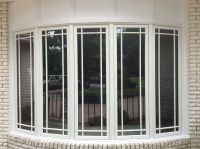 Large Pella Bow window with prairie grilles. | Windows ...