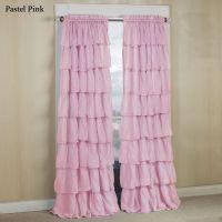 Light Pink Ruffle Shower Curtain | Curtain Menzilperde.Net