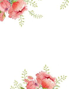 Flower Border Design Transparent Background Valoblogi Com