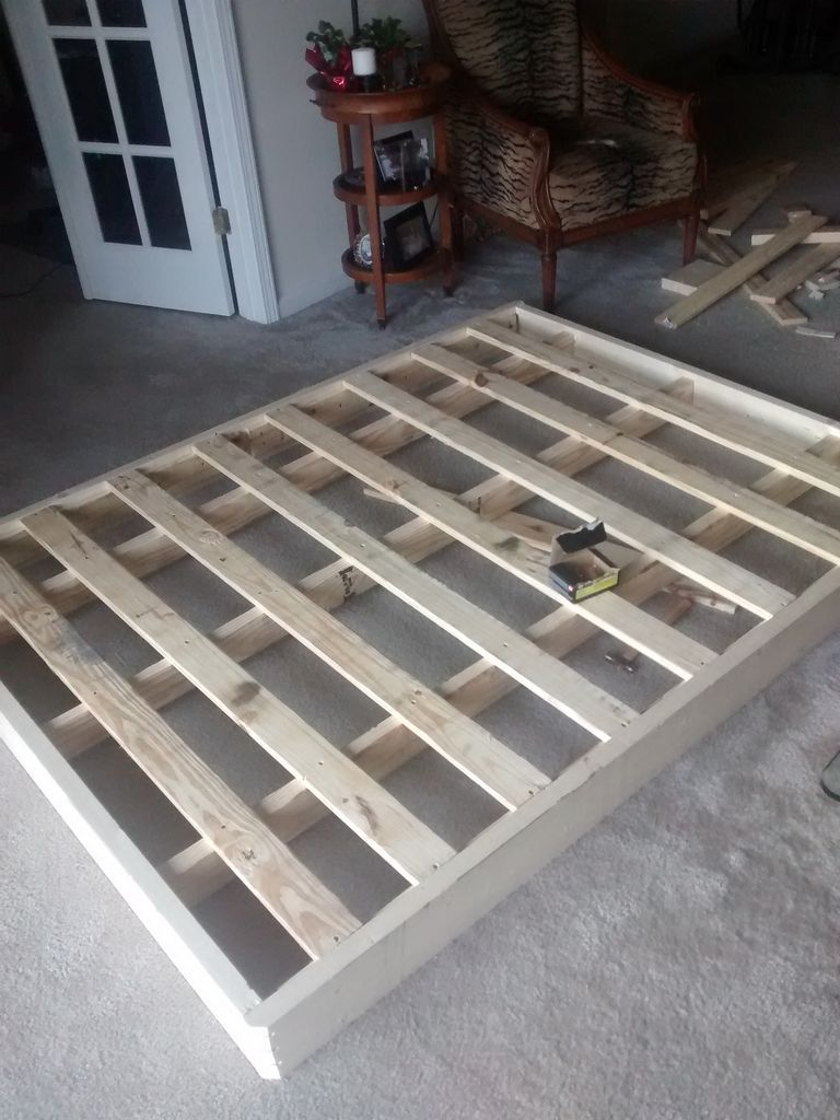ReBuilding A Bed Foundation Box And Spring