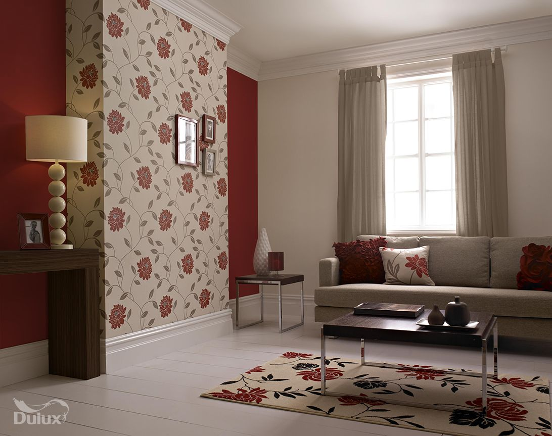 this beautiful floral is the perfect feature wall design adding a