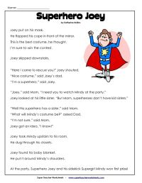 2nd Grade Reading Comprehension Worksheets Pdf | Projects ...