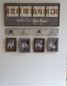Cool rustic home sign where our story starts country decor wedding also rh pinterest