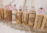 Wine Cork Jewelry Holder by CinTinque on Etsy, $25.00