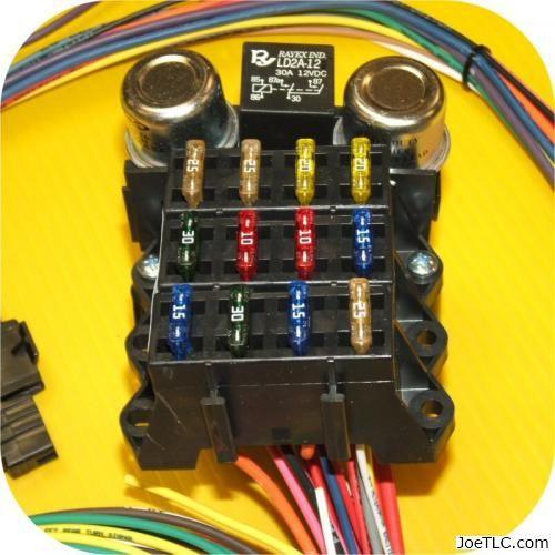 Full Wiring Harness Jeep Cj7 Cj5 Cj8 Cj6 Scrambler Willys Cj Fc Amc