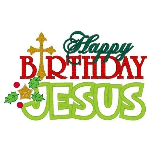happy birthday jesus christmas