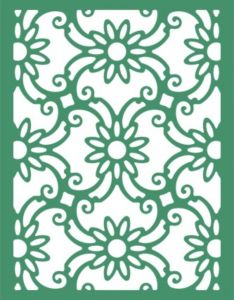Cheery lynn designs daisy lace frame frm http also design tile patterns and mexican tiles on pinterest rh