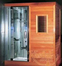 Luxury Steam Sauna Indoor Steam Sauna Sauna Shower ...