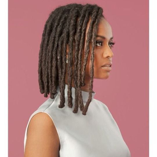 Locs In A Bob Style Beautiful Dreadlocs Locs Dreads