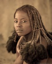 namibian beauty. himba woman