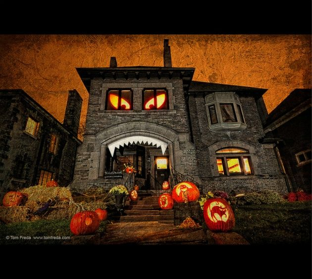 Halloween House Decoration House Monster! Halloween