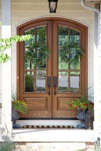 Arched Top French Door. This is not a fiberglass door ...