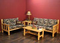 Log Sofa Set | Baci Living Room