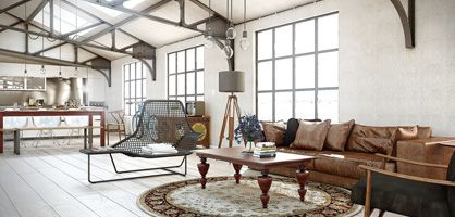 industrial chic living room design ideas i want to live here in some super cool