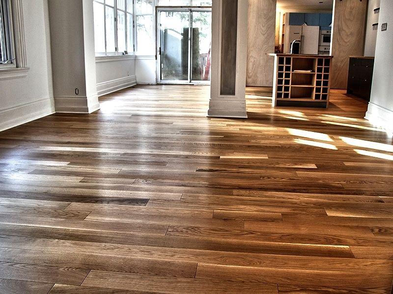 Plancher de bois franc ingenierie  cheneblanc  select